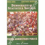Demografie Si Statistica Sociala Pentru Administratie Publica
