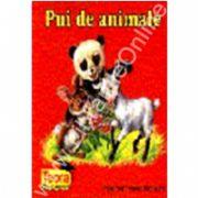 Pui de animale (pliant color cartonat)