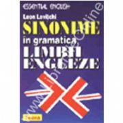 Sinonime in gramatica limbii engleze
