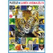SERIA PUZZLE - LUMEA ANIMALELOR 2