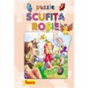 Seria Povesti cu puzzle : SCUFITA ROSIE