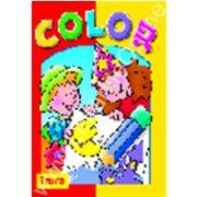Seria COLOR Luna - carte de colorat cu site Internet