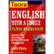 English with a choice - teste rezolvate