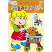 Puzzle - Lipeste si coloreaza 3