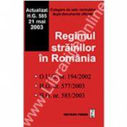 Regimul străinilor în România
