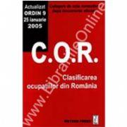 Clasificarea ocupaţiilor din România (actualizat ORDIN 9 - 25 ianuarie 2005)