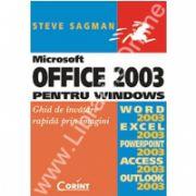Microsoft Office 2003 pentru Windous-Ghid de invatare rapida prin imagini