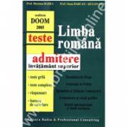 Limba romana - Teste pentru admiterea in invatamantul superior