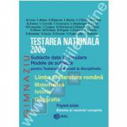 Testare nationala 2006