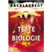 Teste de biologie IX-X