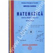 Mircea Ganga, Matematica manual pentru clasa a X-a. Trunchi comun