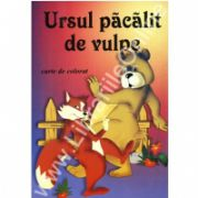 Ursul pacalit de vulpe (Carte de colorat)