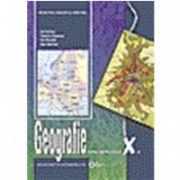 Geografie, manual pentru clasa a X-a (Ion Velcea)