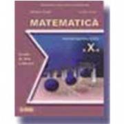 Matematica. Manual pentru Scoala de Arte si Meserii clasa a X-a