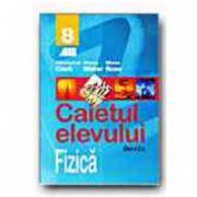 FIZICA. CAIETUL ELEVULUI - CLASA a VIII-a