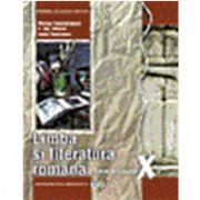 Limba si literatura romana, manual pentru clasa a X-a (Nicolae Constantinescu)