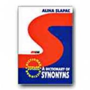 A DICTIONARY OF SYNONYMS