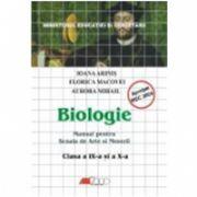BIOLOGIE. MANUAL PENTRU SCOALA DE ARTE SI MESERII - CLASELE a-IX-a SI a X-a