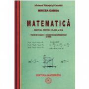 Mircea Ganga, Manual de matematica pentru clasa a XI-a trunchi comun + curriculum diferentiat (4ore)