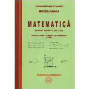 Mircea Ganga, Manual de matematica pentru clasa a XI-a trunchi comun + curriculum diferentiat (3 ore)