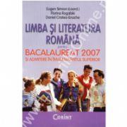 Limba si literatura romana pentru bacalaureat 2007 si admitere in invatamantul superior - Simion