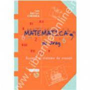 Matematica, de drag volumul I. Ecuaţii si sisteme de ecuatii