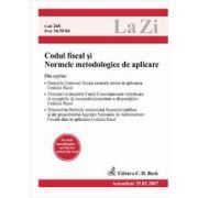Codul fiscal si normele metodologice de aplicare (actualizat la 25.03.2007)