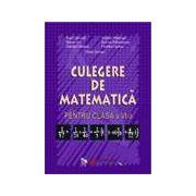 Culegere de matematica. Clasa a VI-a