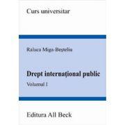 Drept international public, volumul I