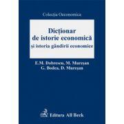 Dictionar de istorie economica si istoria gandirii economice