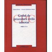 CODUL DE PROCEDURA CIVILA ADNOTAT ED.A 2-A