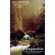 Perspective: o sinteză filosofică originală a estului şi vestului - vol. 1 - caiete de însemnări - partea I + II