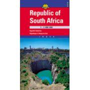 Hartă rutieră Africa de Sud