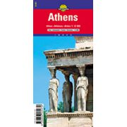 Hartă rutieră Atena