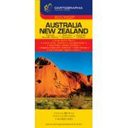 Hartă rutieră Australia, Noua Zelanda