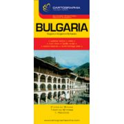 Hartă rutieră Bulgaria