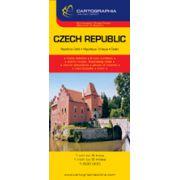 Hartă rutieră Cehia