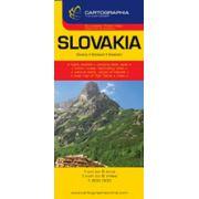 Hartă rutieră Slovacia