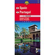 Hartă rutieră Spania, Portugalia