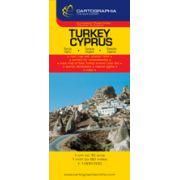 Hartă rutieră Turcia, Cipru
