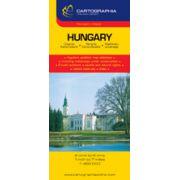 Hartă rutieră Ungaria