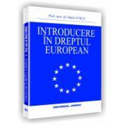 INTRODUCERE IN DREPTUL EUROPEAN