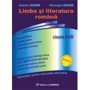 Limba si literatura romana. Clasele V-VIII