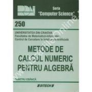 Metode de calcul numeric pentru algebra