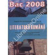 Literatura Romana. Bac 2008