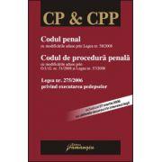 Codul penal. Codul de procedura penala. Legea nr. 275/2006 privind exectutarea pedepselor ed. a 6-a, (actualizat 27 martie 2008)