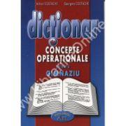 Dictionar de concepte operationale pentru gimnaziu