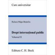 Drept international public. Volumul II