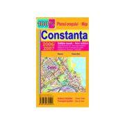 Harta pliata Constanta