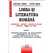 Limba si literatura romana - Comentarii, Sinteze, Notiuni de teorie literara, Notiuni de limba